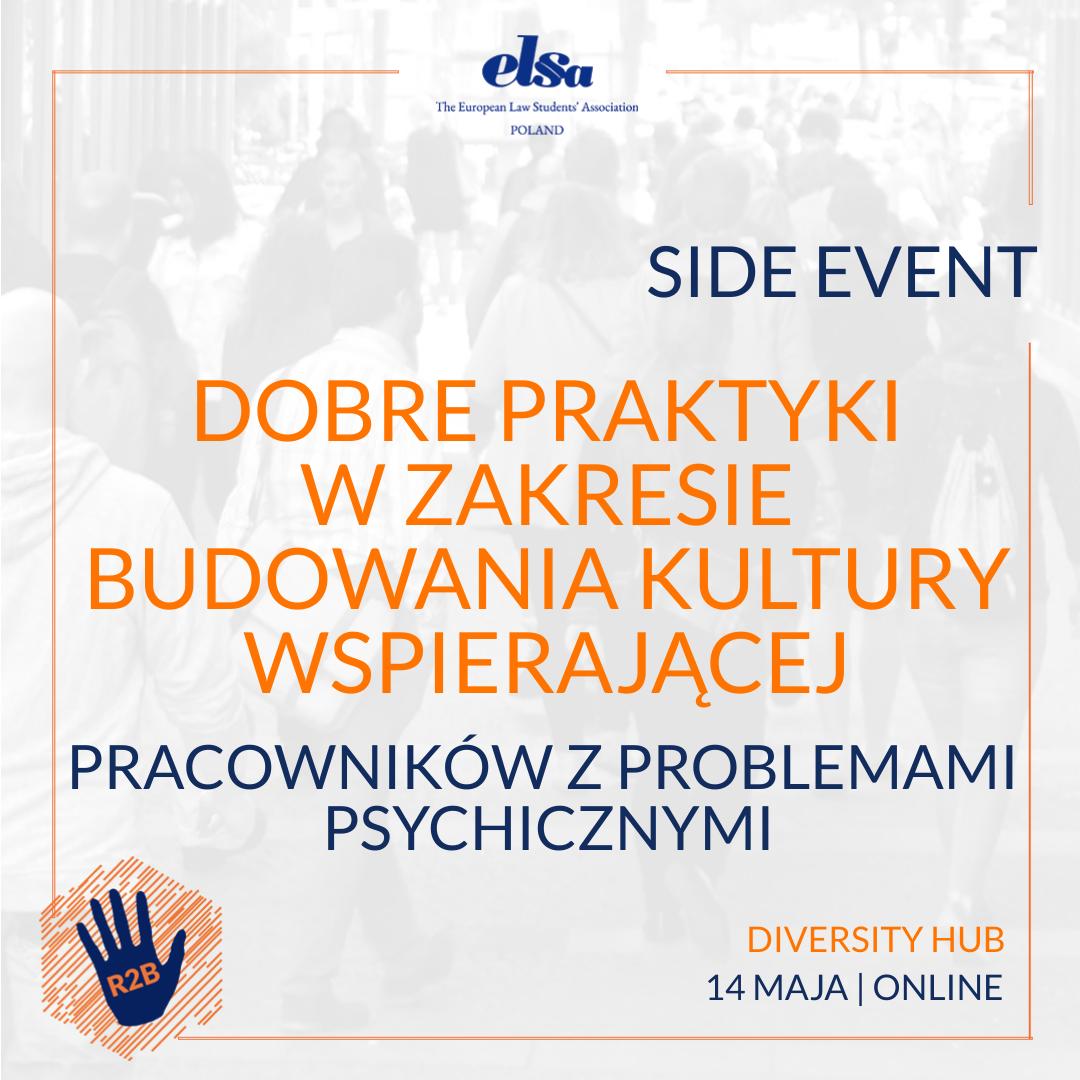 Side event – Diversity Hub