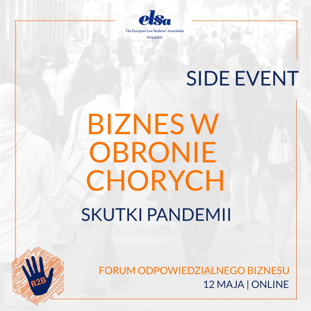 Side events – zero waste
